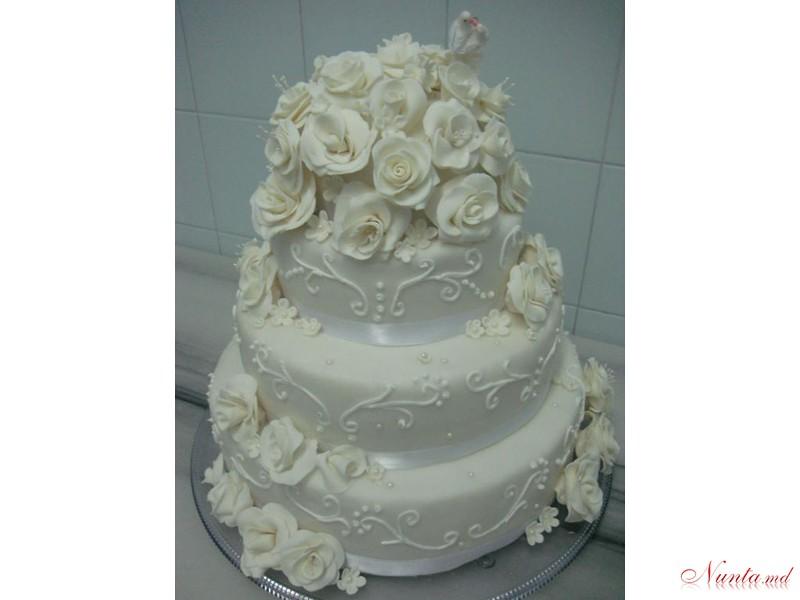 Белковые свадебные торты фотографии