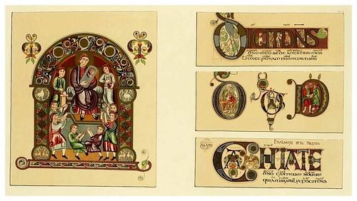 002-Fac-similes of the miniatures & ornaments of Anglo-Saxon & Irish manuscripts-1868