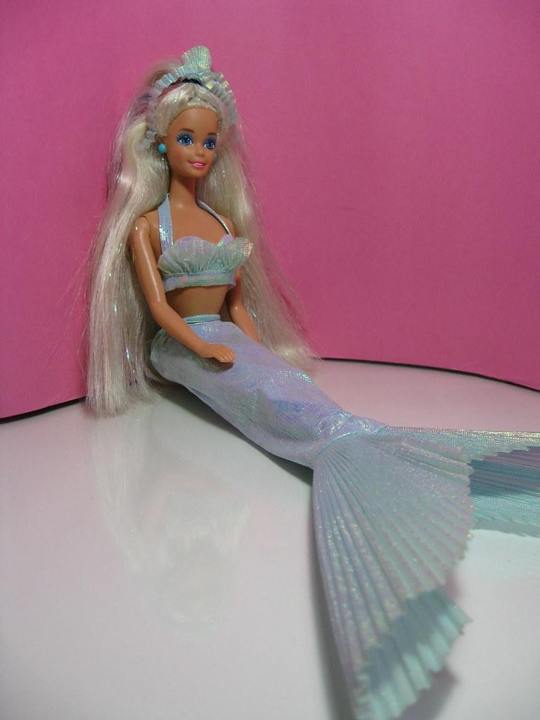 Barbie Sirena 1991 Shìne Flickr