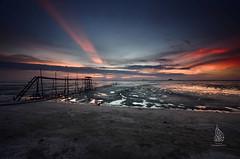 'Sunset at Pantai Jeram'