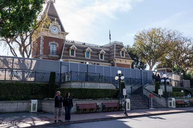 Main Street Train Station Closure