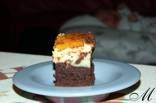 Brownie marmorizzati formaggio