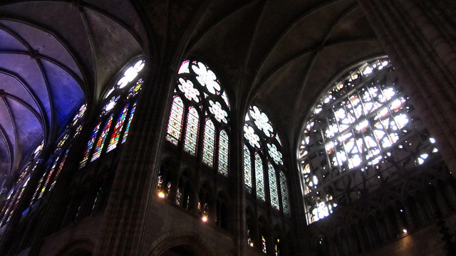 Rose windows of St Denis Basilica