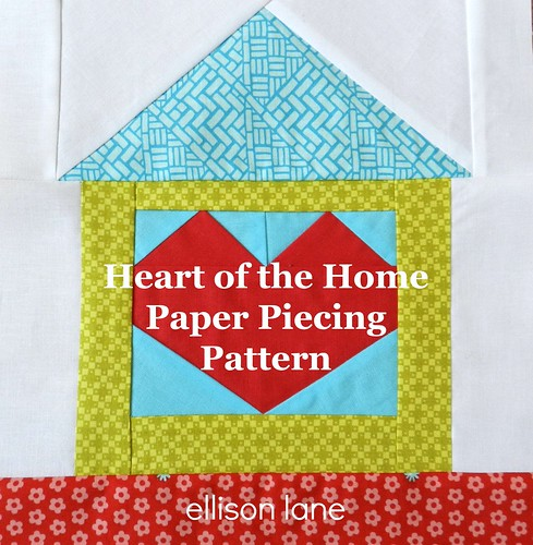 heart of the home block pattern