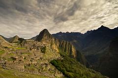 The magnificent Machu Pichu site.