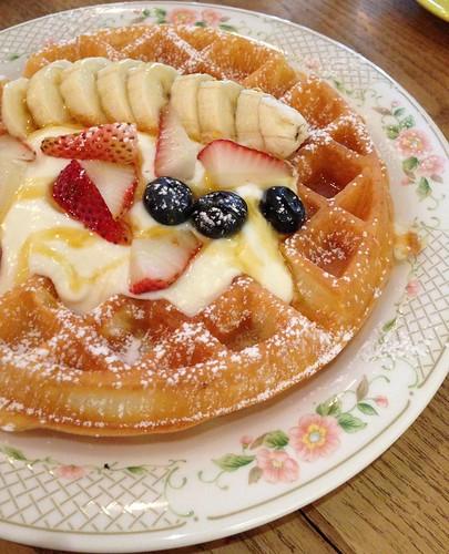 Strangers' Reunion - Buttermilk Waffles