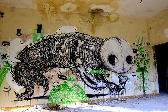 mural | sam crew | klosterfelde . artbase 2012
