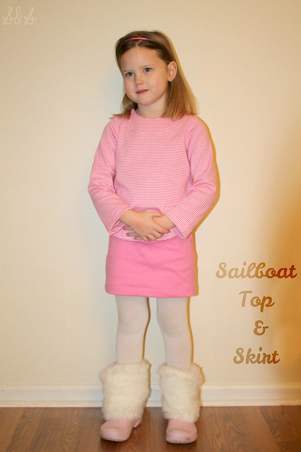 Sailboat Top & Skirt