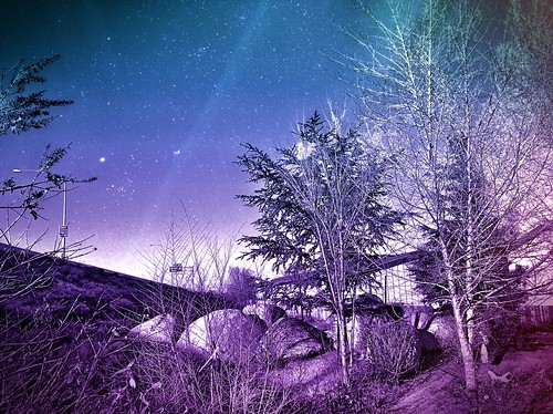 camera blue trees roof sky stars landscape highway rocks nevada january violet surreal lightleak nv reno ios hdr nightfx 2013 skyporn northernnevada photofx lenslight iphoneography iphone4s icamerahdr photoforge2 snapseed unitedbyedit uploaded:by=flickrmobile flickriosapp:filter=nofilter animalmedicalcenterofreno