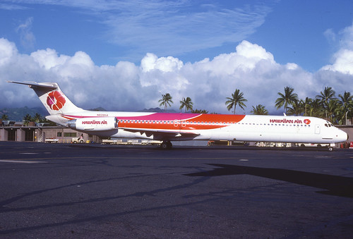 Hawaiian Air MD-81; N839HA , November 1981 (from my collection, not my picture)