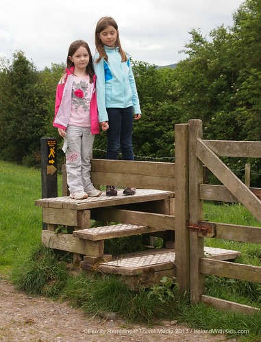 Walking in Ireland- Crossing a Stile