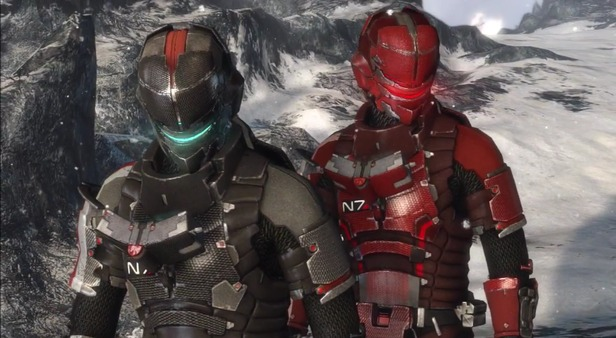 Unlock N7 Armor in Dead Space 3 with your Mass Effect 3 Save File