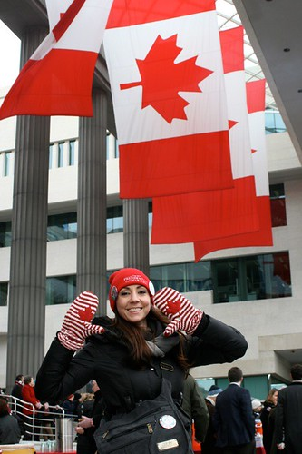 Inauguration Tailgate Party at the Canadian Embassy