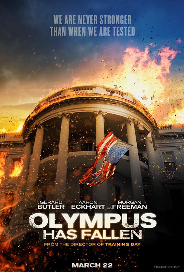 Olympus Has Fallen Poster 02