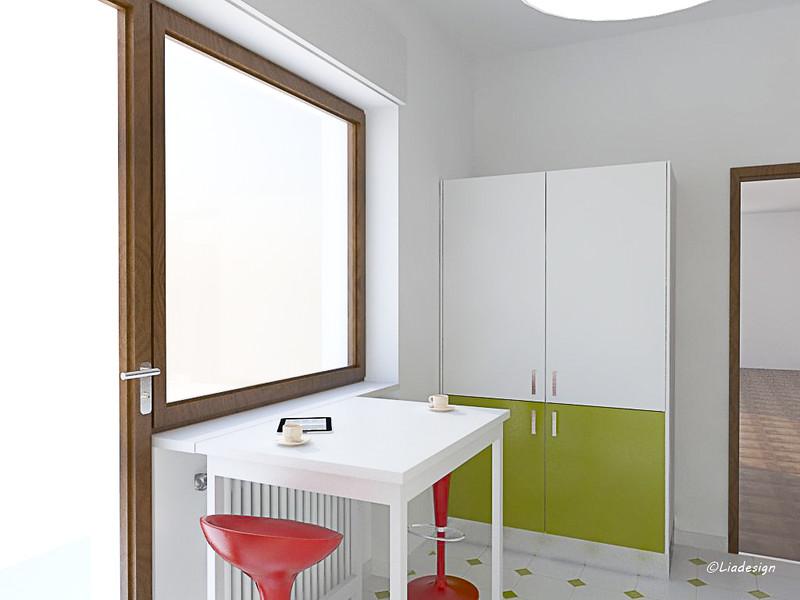 Mammeonline • leggi argomento   progetto per una cucina verde ...