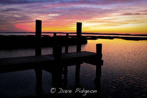 winter sunset bay virginia dock dusk easternshore chincoteague nationalwildliferefuge shellybay 2013 usfishandwildlife