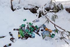 Trash on the trail