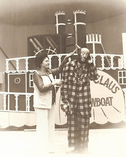 Happy Kellems (and Mrs. Kellems) performing at Santa Claus Land