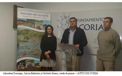 EL AYUNTAMIENTO DE CORIA PROMOCIONARÁ EL DESCENSO DEL ALAGÓN EN LA FERIA INTERNACIONAL DE TURISMO DE MADRID FITUR 2013