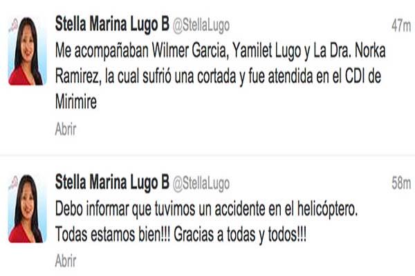 Twitter Stella Lugo