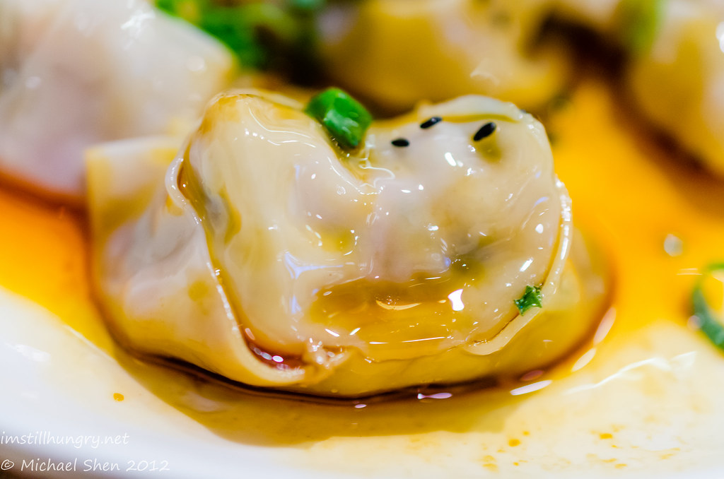 Taste of Shanghai poached pork dumplings