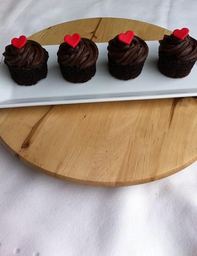Cupcake, valentine cupcakes , chocolate cupcakes