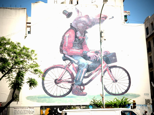 Bike Mural Buenos Aires