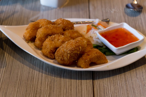Thai Prawn Cakes at Thai Basil (Toronto)