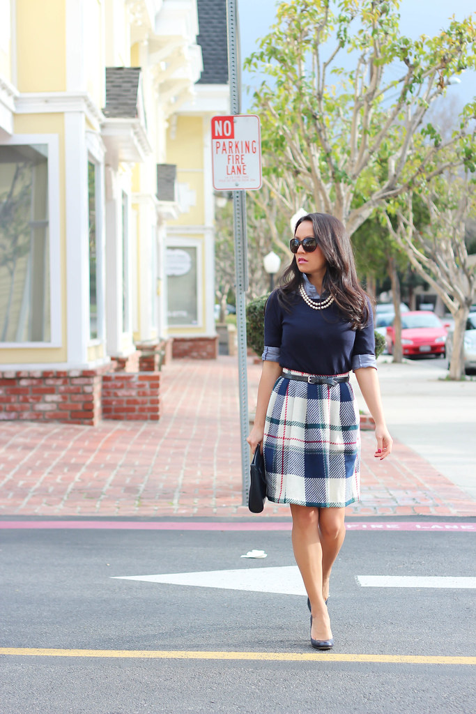 Vintage Plaid Skirt12.jpg