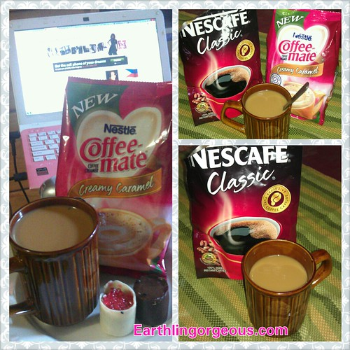 how I like my Nescafe Classic :)