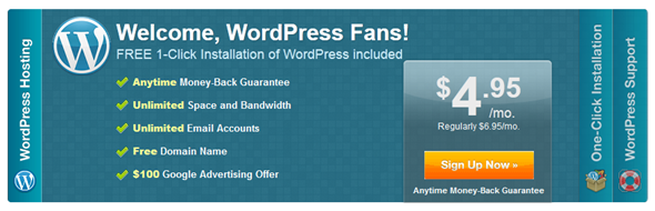 Installing WordPress in Bluehost