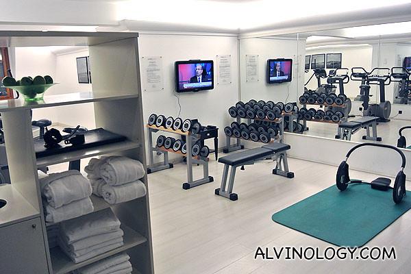Gym in Swissotel Metropole Geneva