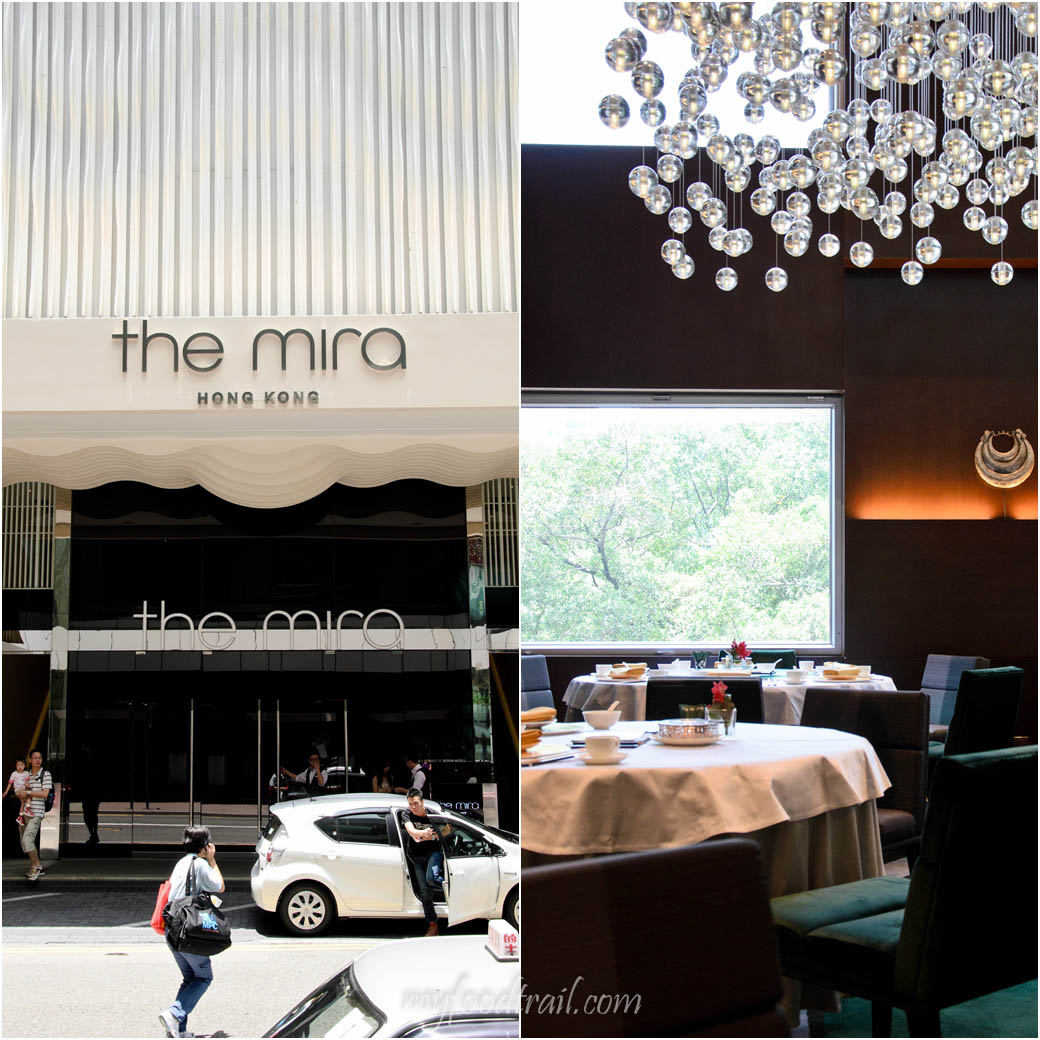 Cuisine Cuisine, The Mira, Hong Kong - Outside and Inside