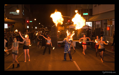 Hawaii Fire Artists - Chinese New Year 2013
