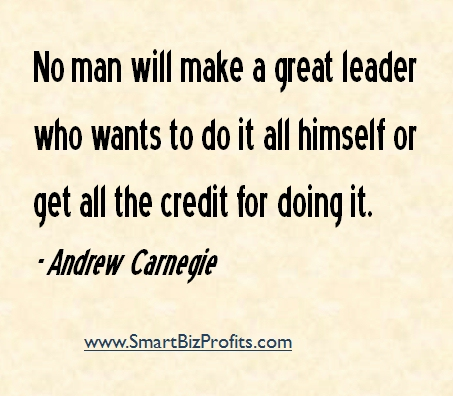 inspirational quotes leadership andrew crnegie andrew