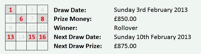 Dock Lottery 03-02-2013