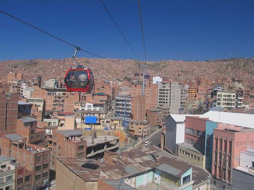 La Paz: el teleférico !