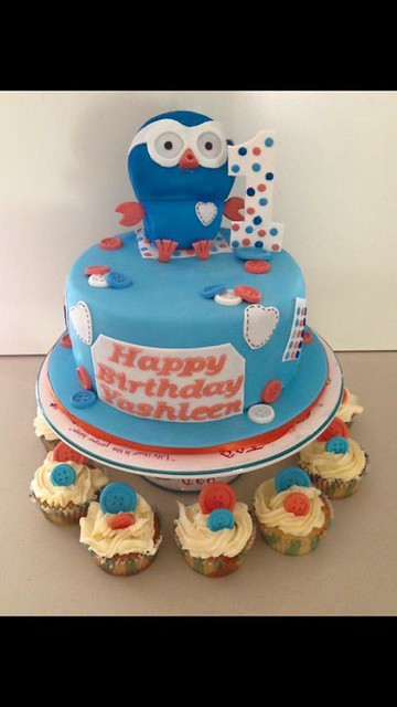 Giggle & Hoot Cake by Patty Walker