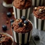 kókuszos-banános muffin