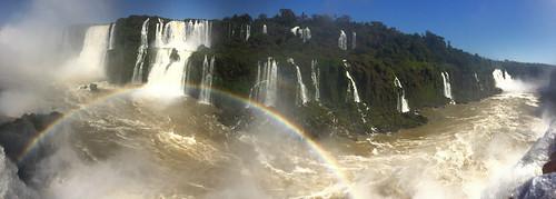 Les chutes d'Iguaçu: dans la Garganta del Diablo