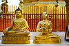 Bronze Buddha and The Golden Alms Giver at Doi Suthep