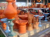 Clay handicrafts
