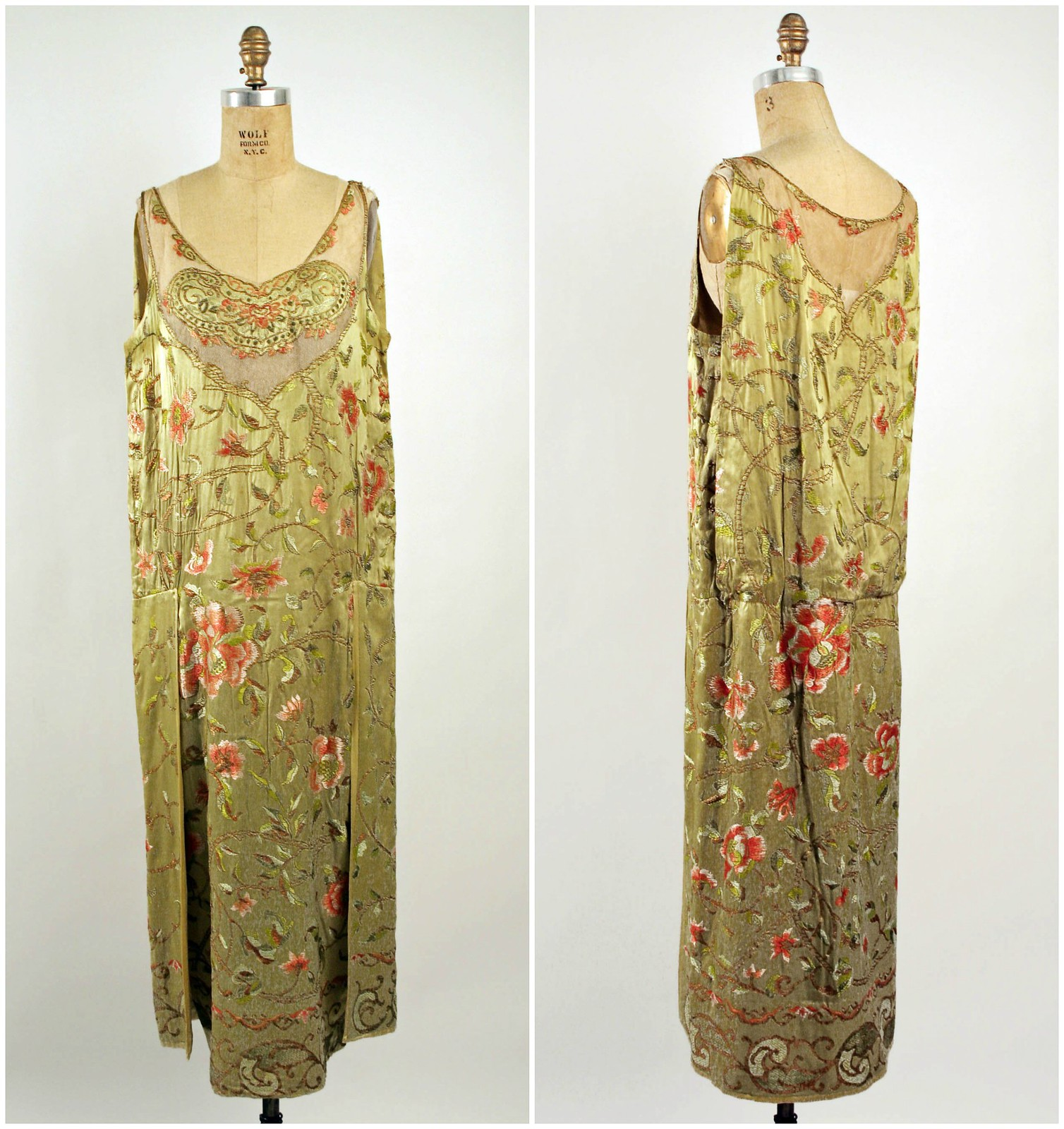 1924 Evening Dress. French. Callot Soeurs. Silk. metmuseum