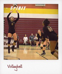 Girls volleyball played at home tonight. They're back on the road Thursday at Marymount. #volleyball @scorestream