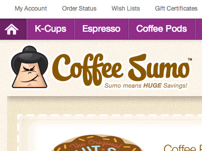 Coffee Sumo Logo