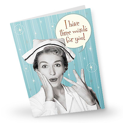 Quot Vintage Nurse Quot Get Well Card Flickr Photo Sharing