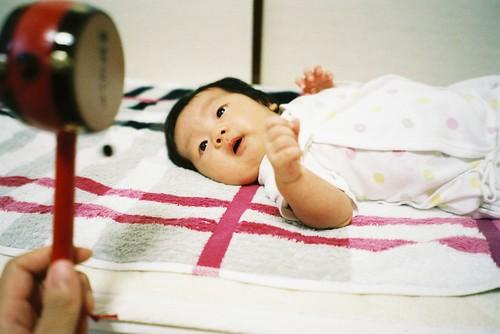 鼓(A baby drums)
