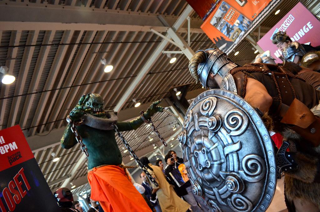 New York Comic Con 2012 Skyrim cosplay
