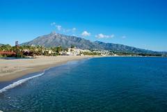 La Concha desde la Playa (Marbella)