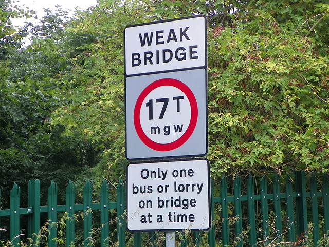 Henley-on-Thames 166: Weak Bridge